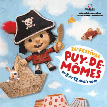 Affiche festival Puy de Mômes